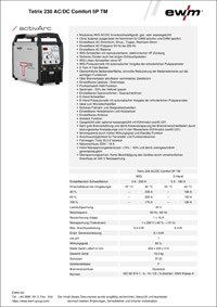 datenblatt tetrix230